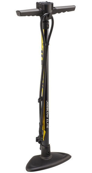 Topeak JoeBlow Elite Cykelpump gul/svart